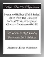 Algernon Charles Swinburne by