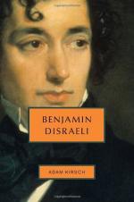 Benjamin Disraeli by