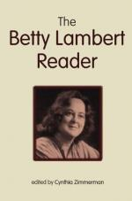 Betty Lambert by