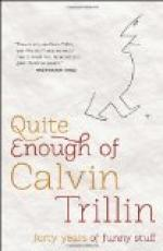 Calvin (Marshall) Trillin by