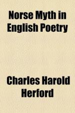 Charles Harold Herford by