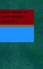 D(avid) H(erbert Richards) Lawrence by