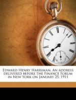 Edward Henry Harriman by