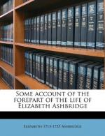 Elizabeth Ashbridge by
