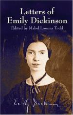 Emily (Elizabeth) Dickinson by