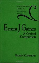 Ernest J(ames) Gaines by