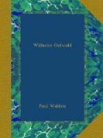 Friedrich Wilhelm Ostwald by