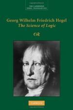 Georg Wilhelm Friedrich Hegel by