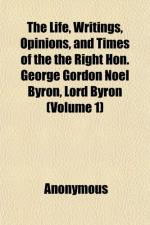 George Gordon (Noel) Byron by