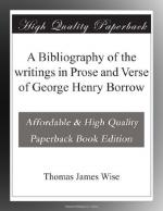 George (Henry) Borrow by