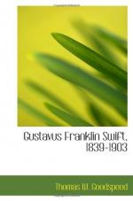 Gustavus Franklin Swift by