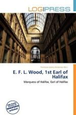 Halifax, 1st Earl of by