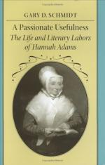 Hannah Adams by