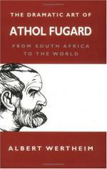 (Harold) Athol Fugard by