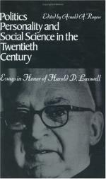 Harold Dwight Lasswell by