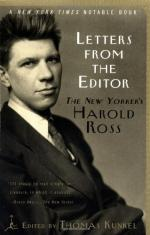Harold W(allace) Ross by