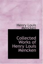 Henry Louis Mencken by