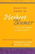 Herbert Blumer by
