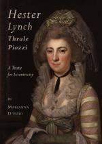 Hester Lynch (Thrale) Piozzi by