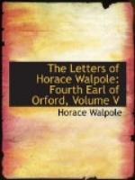 Horace Walpole by