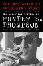 Hunter S(tockton) Thompson by