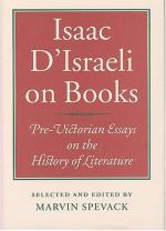 Isaac D'Israeli by