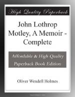 John Lothrop Motley by