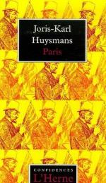 Joris Karl Huysmans by William Kotzwinkle