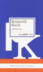 Kenneth Koch by