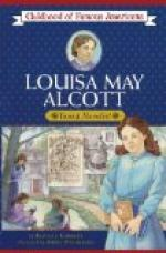 Louisa May Alcott by