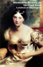 Marguerite Countess of Blessington by