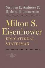 Milton Eisenhower by