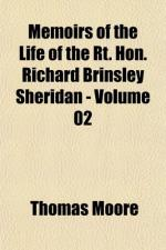 Richard Brinsley Sheridan by