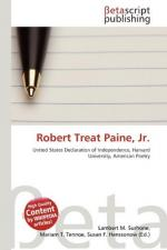 Robert Treat Paine, Jr. by