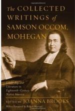 Samson Occom by