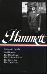 (Samuel) Dashiell Hammett by