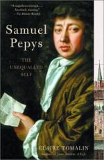 Samuel Pepys by Samuel Pepys