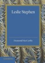 Sir Leslie Stephen by