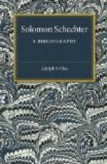 Solomon Schechter by
