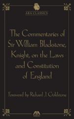 William Blackstone, Sir by