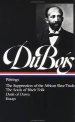 W(illiam) E(dward) B(urghardt) Du Bois by