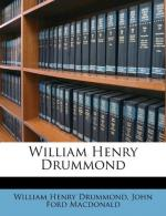 William Henry Drummond by