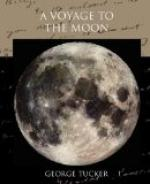 A Voyage to the Moon by George Tucker