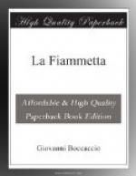 La Fiammetta by Giovanni Boccaccio