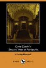 Dave Darrin's Second Year at Annapolis by H. Irving Hancock