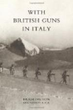 With British Guns in Italy by Hugh Dalton