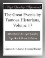 The Great Events by Famous Historians, Volume 17 by