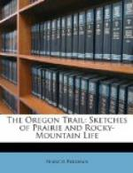 The Oregon Trail: sketches of prairie and Rocky-Mountain life by Francis Parkman
