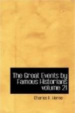 The Great Events by Famous Historians, Volume 21 by