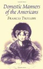 Domestic Manners of the Americans by Frances Trollope